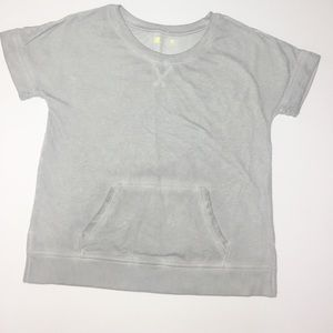 Xersion sweater with pockets top small